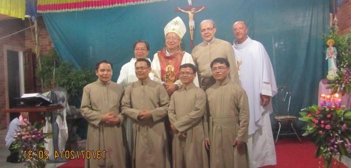 2014 Hình ảnh Lễ Khấn lần đầu MSA Việt Nam tại Gp Vinh