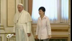 Đức Thánh Cha đến Hàn Quốc