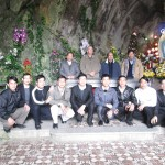 """""""Ba đạo sĩ lạ"""" đến thăm giáo xứ Bảo Nham dịp lễ Ba Vua"""