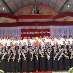 Hội dòng Mến Thánh Giá Vinh mừng hồng ân tiên khấn cho 59 tập sinh
