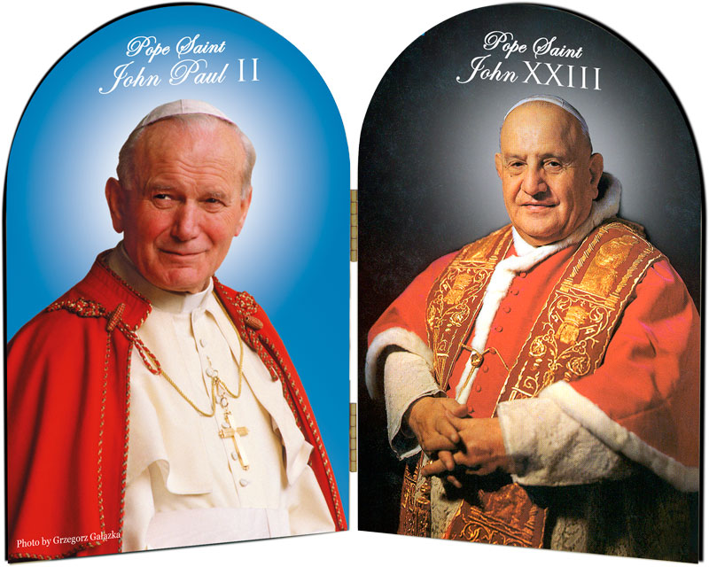 Ðức Thánh Cha Phanxicô thiết lập  Lễ nhớ hai thánh giáo hoàng  Gioan XXIII và Gioan Phaolô II