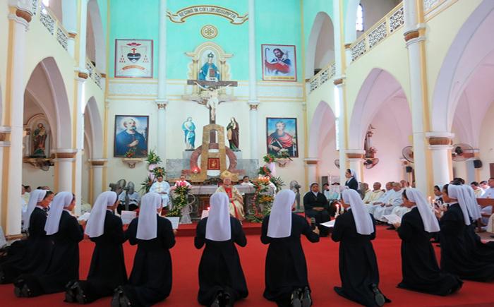 Hội dòng Thừa sai Bác ái giáo phận Vinh: Thánh lễ mừng bổn mạng và hồng ân thánh hiến